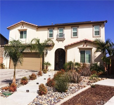 Corona Single Family Home For Sale: 25701 Chamomile Road