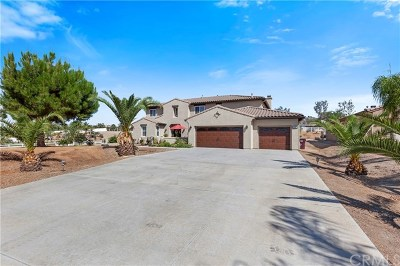 Riverside Single Family Home For Sale: 17480 Timberview Drive