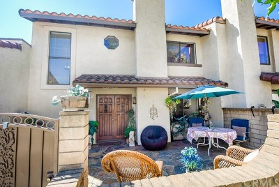 Rancho Cucamonga Condo/Townhouse For Sale: 9766 El Paseo Drive
