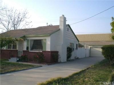 Fontana Single Family Home For Sale: 17262 Ivy Avenue