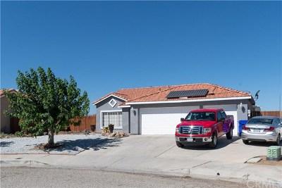 Adelanto Single Family Home For Sale: 14648 Desert Rose Drive