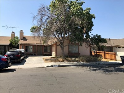 Perris Single Family Home Active Under Contract: 2580 Needles Court