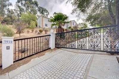 La Habra Heights Single Family Home For Sale: 3910 Hacienda Road