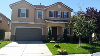 Perris Single Family Home For Sale: 559 Botan Street