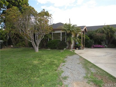 Costa Mesa Single Family Home Active Under Contract: 2104 Continental Avenue