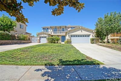 Corona Single Family Home Active Under Contract: 1663 Camino De Salmon Street