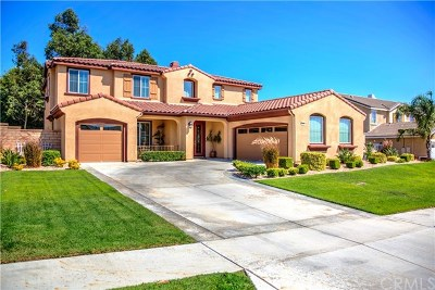 Rancho Cucamonga CA Single Family Home For Sale: $779,000