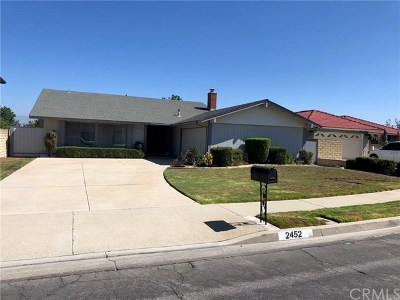 Rowland Heights Single Family Home For Sale: 2452 Agostino Drive