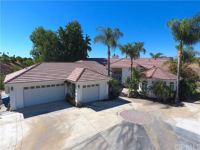 Riverside, Temecula Single Family Home For Sale: 6878 Chartwell Drive