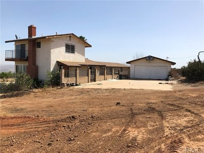 Corona Single Family Home For Sale