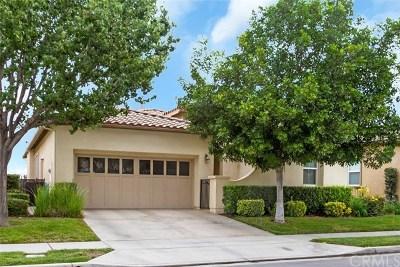 Corona Single Family Home For Sale: 24352 Songsparrow