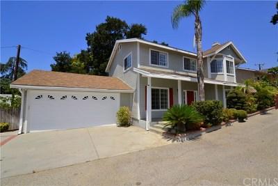 La Crescenta Single Family Home For Sale: 2749 Altura Avenue