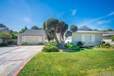 Fullerton Single Family Home For Sale: 525 Stanford Avenue