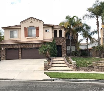 Corona Single Family Home For Sale: 3074 Pinehurst Drive