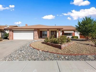 Menifee Single Family Home For Sale: 27786 Foxfire Street