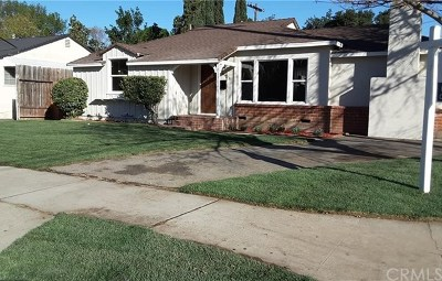 Van Nuys Single Family Home For Sale: 16601 Valerio Street