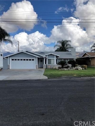 Mentone Single Family Home For Sale: 2039 Anzio Avenue