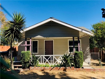 Chino Single Family Home For Sale: 13209 11th Street