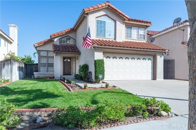 Corona Single Family Home For Sale: 1111 Vista Lomas Lane
