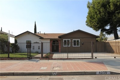 North Hollywood Single Family Home For Sale: 8235 Agnes Avenue