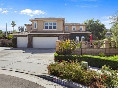 Corona Single Family Home For Sale: 1286 Bonsai Circle
