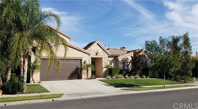 Corona Single Family Home For Sale: 8478 Renwick Drive