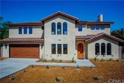 Corona Single Family Home For Sale: 7627 Marilyn Drive
