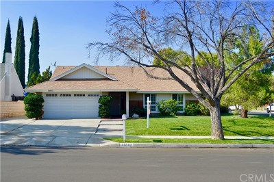 Chino Hills Single Family Home For Sale: 14810 Foxglove Drive