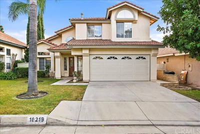 Rancho Cucamonga Single Family Home Active Under Contract: 10219 Corkwood Court