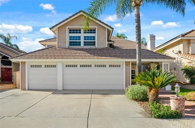 Chino Hills Single Family Home For Sale: 14682 Prairieview Circle