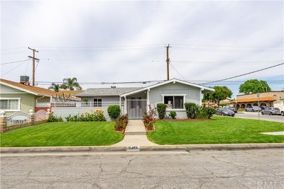 Pico Rivera Single Family Home For Sale: 8403 Lexington Gallatin Road