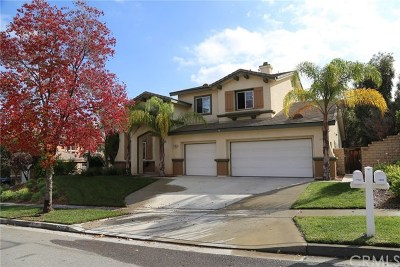 Corona Single Family Home For Sale: 1702 Tamarron Drive