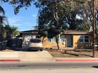 Montclair Single Family Home For Sale: 9889 Monte Vista Avenue