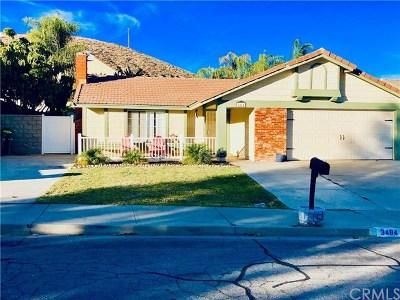 Lake Elsinore Single Family Home For Sale: 3484 Cherry Blossom Lane