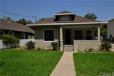Pasadena Single Family Home For Sale: 1710 N Summit Avenue
