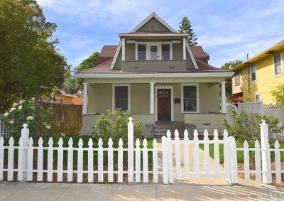 Redlands Single Family Home For Sale: 222 Grant Street
