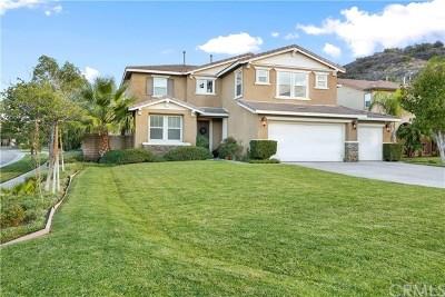 Corona Single Family Home For Sale: 3461 Amethyst Circle
