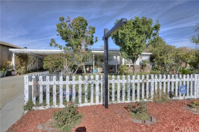 Corona Single Family Home For Sale: 7636 Rudell Road