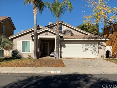 Perris Single Family Home For Sale: 1348 Yukon Avenue