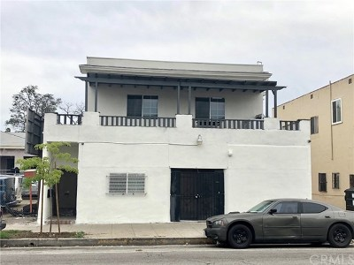 Los Angeles Multi Family Home For Sale: 5316 S Hoover Street