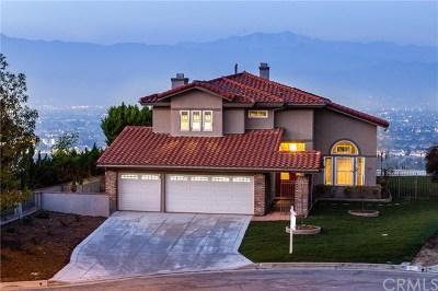 West Covina Single Family Home For Sale: 3209 Hampton Drive