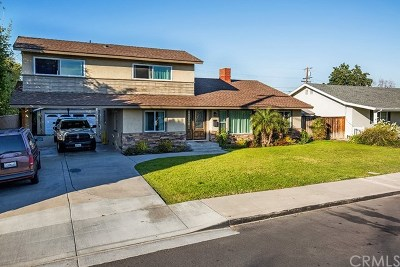 Anaheim Single Family Home For Sale: 909 W Wilhelmina Street