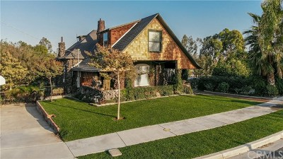 Riverside, Temecula Single Family Home For Sale: 3837 Ridge Road