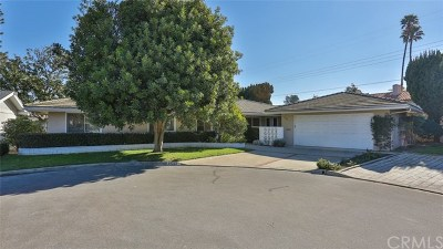 Tustin Single Family Home For Sale: 14322 Willow Lane