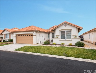 Hemet Single Family Home For Sale: 837 Saint Barthelemy Drive
