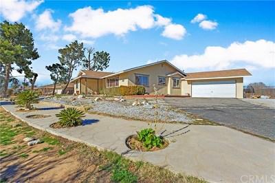 Hesperia Single Family Home For Sale: 18290 Orange Street