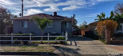 Corona Single Family Home For Sale: 934 Cedar Street