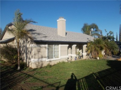 Perris Single Family Home For Sale: 20652 Myron Street