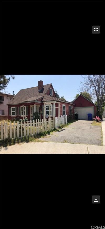 San Gabriel Single Family Home For Sale: 8956 E Fairview Avenue