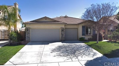 Menifee Single Family Home For Sale: 27753 Bluff Vista Way
